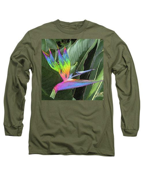Bird Ow  Paradise Long Sleeve T-Shirt