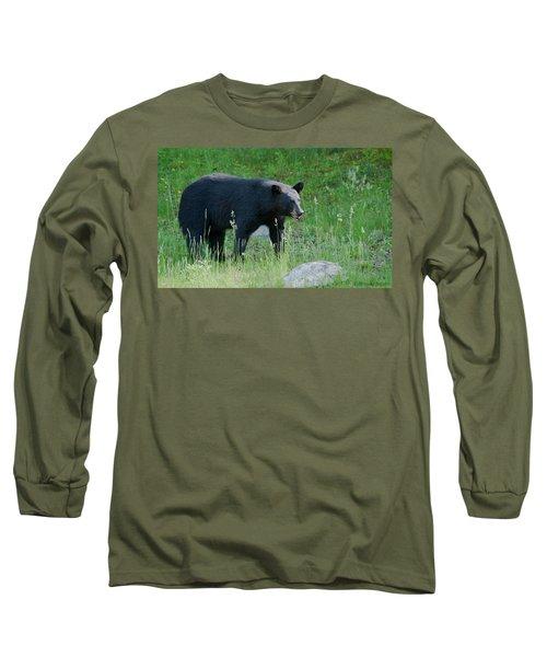 Black Bear Female Long Sleeve T-Shirt