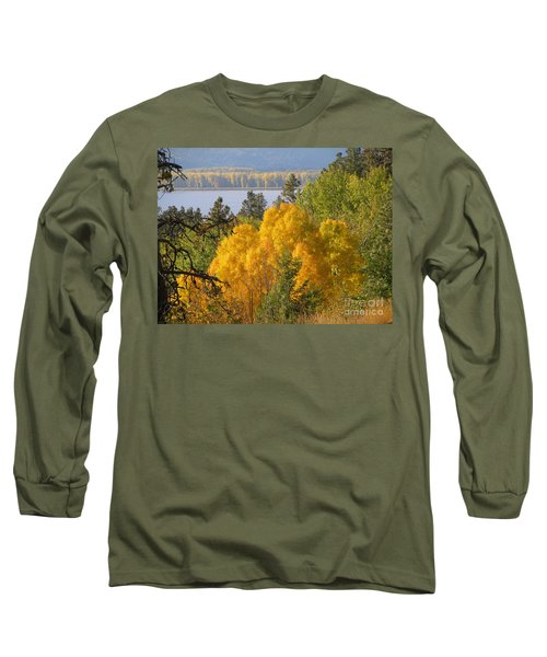 Blazing Yellow Long Sleeve T-Shirt