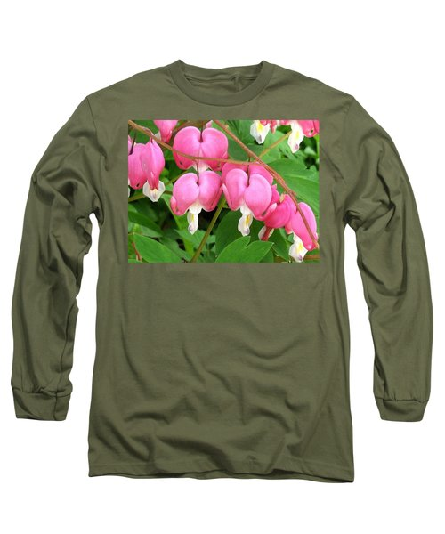 Bleeding Hearts On Parade Long Sleeve T-Shirt