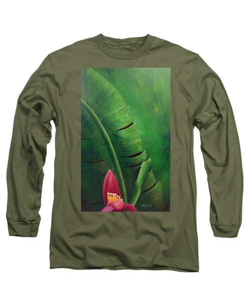 Blooming Banana Long Sleeve T-Shirt