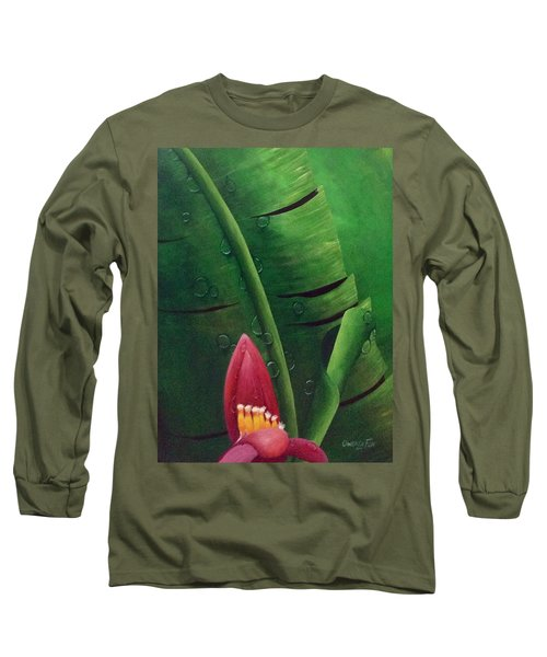 Blooming Banana Long Sleeve T-Shirt