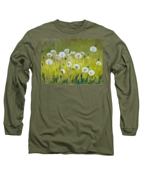 Blow Balls Long Sleeve T-Shirt by Irek Szelag