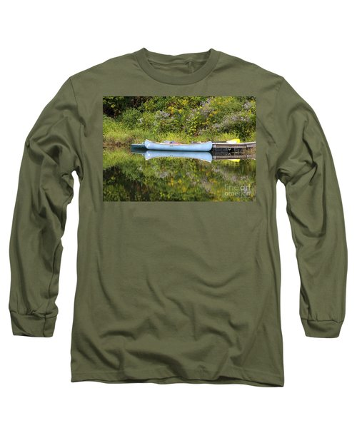 Blue Canoe Long Sleeve T-Shirt