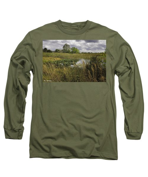 Blue Cypress Wetlands Long Sleeve T-Shirt