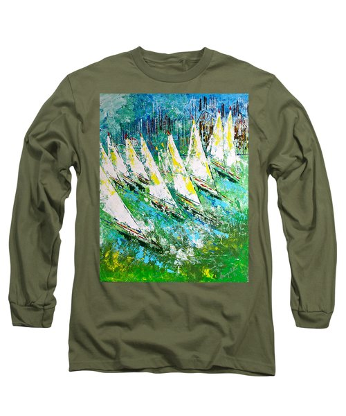 Blue Moon Chicago - Sold Long Sleeve T-Shirt by George Riney