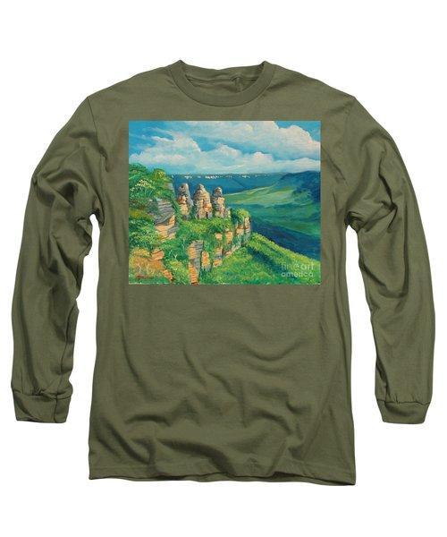 Blue Mountains Australia Long Sleeve T-Shirt