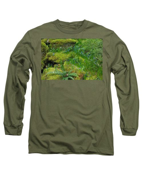 Long Sleeve T-Shirt featuring the photograph Bluebells  by Marilyn Wilson