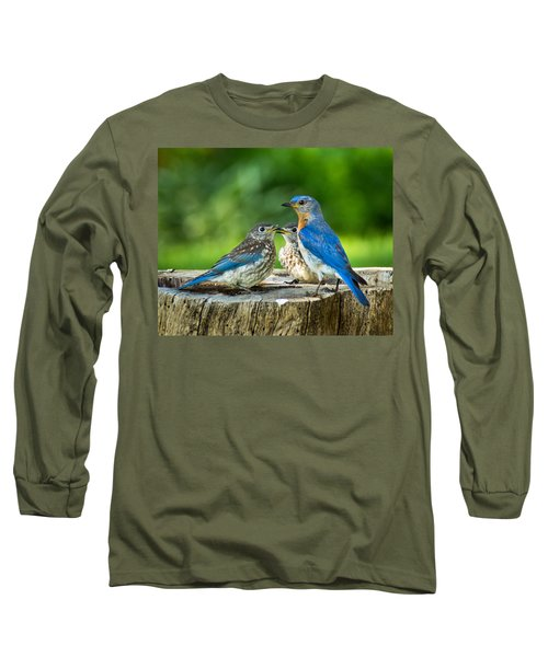 Bluebird - Father And Sons Long Sleeve T-Shirt