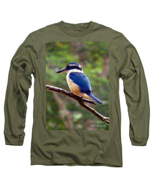Bluebird In Suva Fiji Long Sleeve T-Shirt