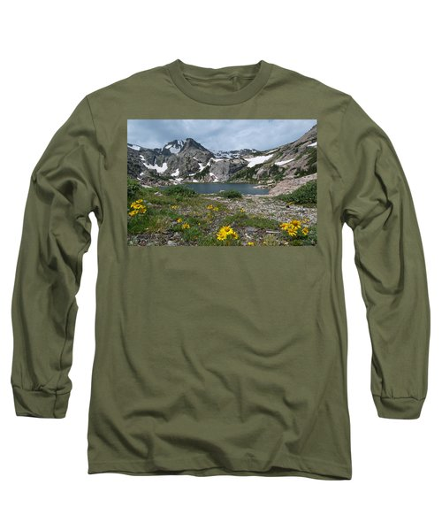 Bluebird Lake - Colorado Long Sleeve T-Shirt