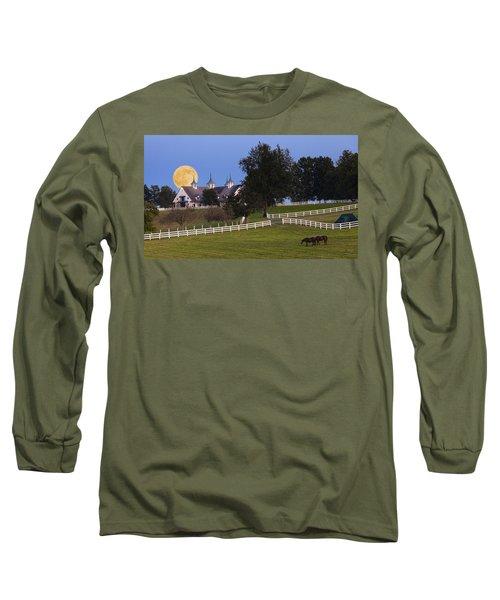 Bluegrass Moonrise Long Sleeve T-Shirt