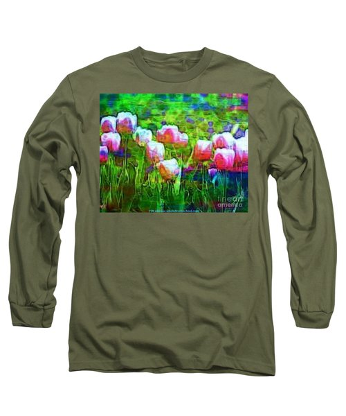 Blurry Vision Losing Mine Long Sleeve T-Shirt by PainterArtist FIN