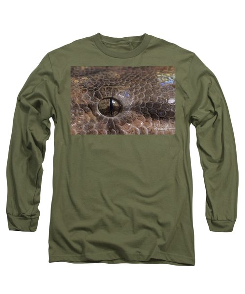 Boa Constrictor Long Sleeve T-Shirt by Chris Mattison FLPA