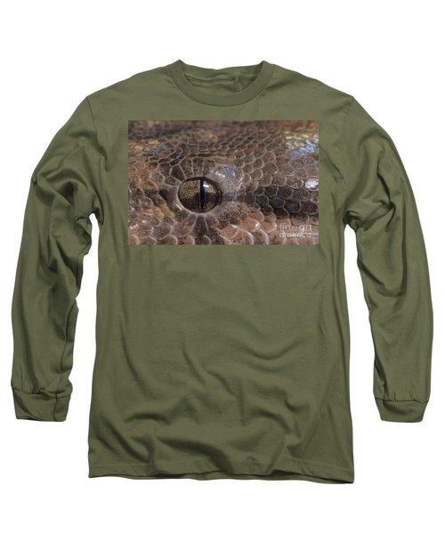 Boa Constrictor Long Sleeve T-Shirt by Chris Mattison FLPA