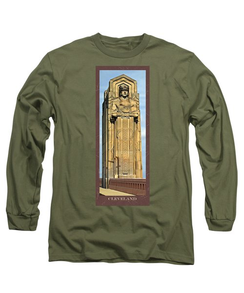 Bob Hope Memorial Bridge Long Sleeve T-Shirt by Joan  Minchak