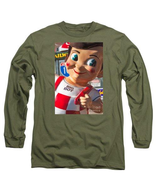 Bob's Big Boy Long Sleeve T-Shirt by Jerry Fornarotto