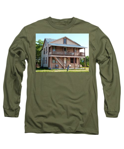 Long Sleeve T-Shirt featuring the photograph Bodden House by Amar Sheow
