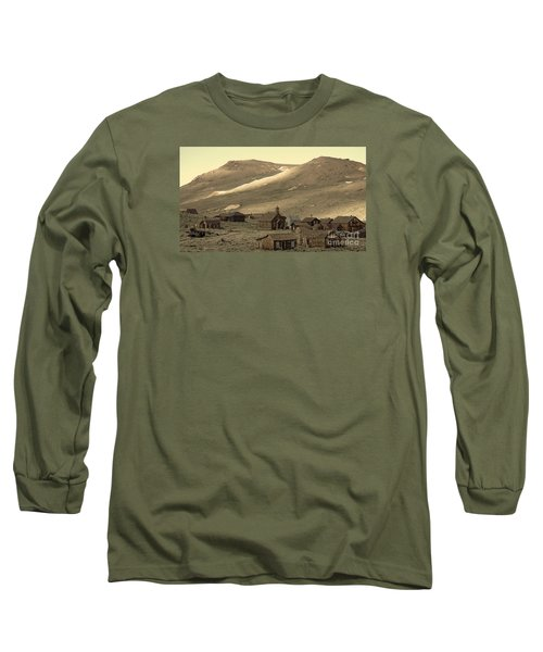 Long Sleeve T-Shirt featuring the photograph Bodie California by Nick  Boren