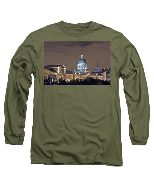 Bonsecours At Night Long Sleeve T-Shirt