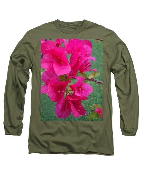 Bougainvillea Dream #2 Long Sleeve T-Shirt