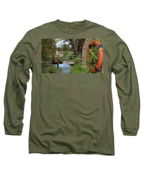Bouy By Canal Long Sleeve T-Shirt by Cheryl Miller