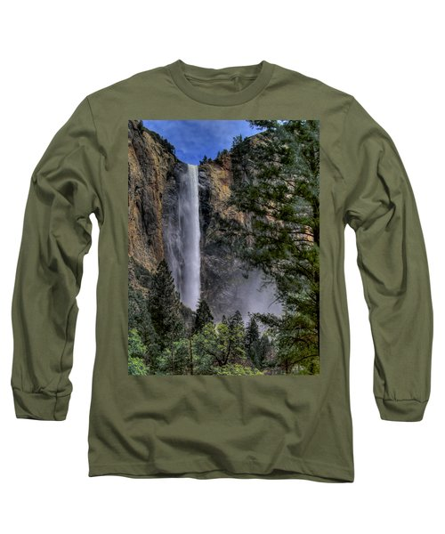 Bridalveil Falls Long Sleeve T-Shirt by Bill Gallagher