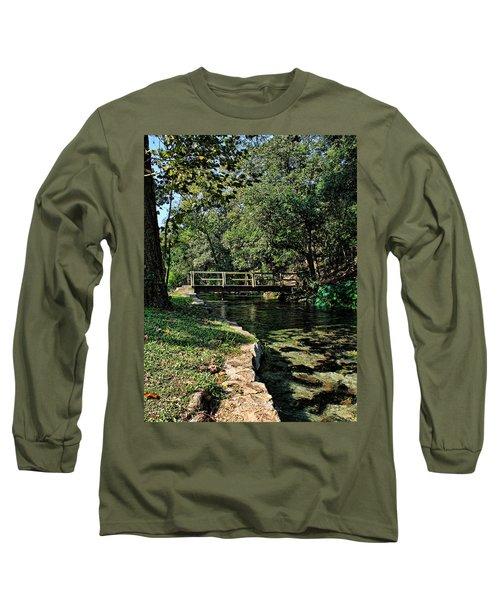 Bridge Of Serenity Long Sleeve T-Shirt