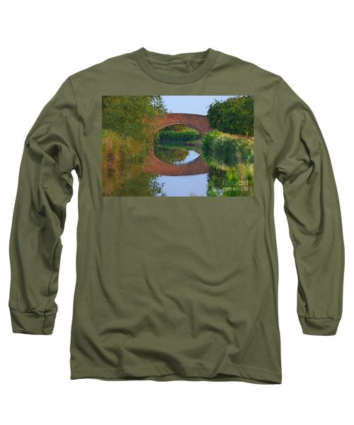 Bridge Over The Canal Long Sleeve T-Shirt