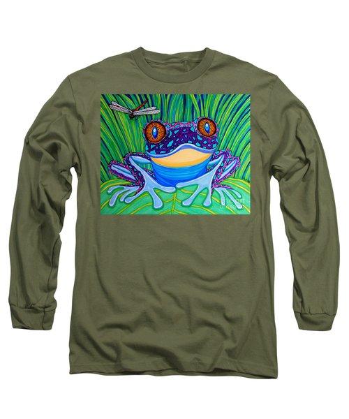 Bright Eyed Frog Long Sleeve T-Shirt