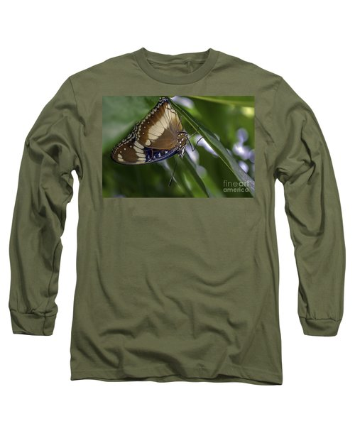 Brilliant Butterfly Long Sleeve T-Shirt by Ray Warren