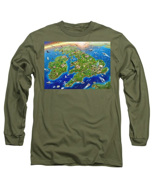 British Isles Long Sleeve T-Shirt