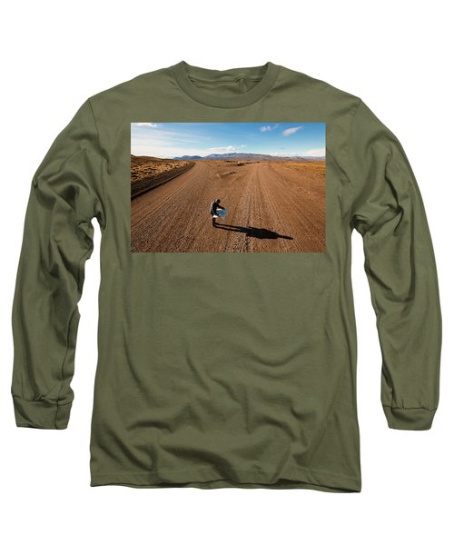 Brody Leven, Patagonia, Chile Long Sleeve T-Shirt