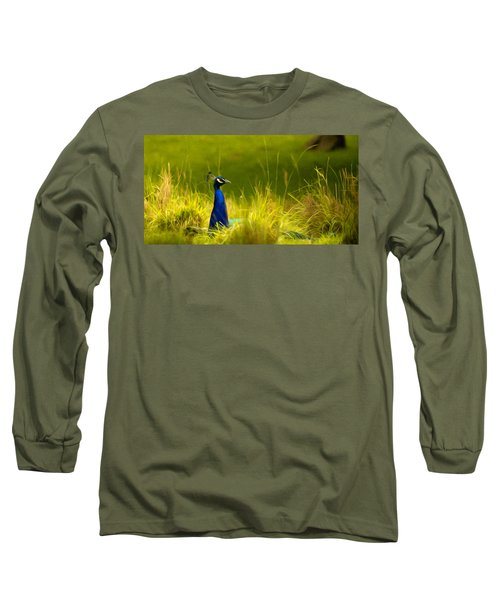 Bronx Zoo Peacock Long Sleeve T-Shirt