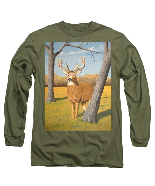 Bucky The Deer Long Sleeve T-Shirt