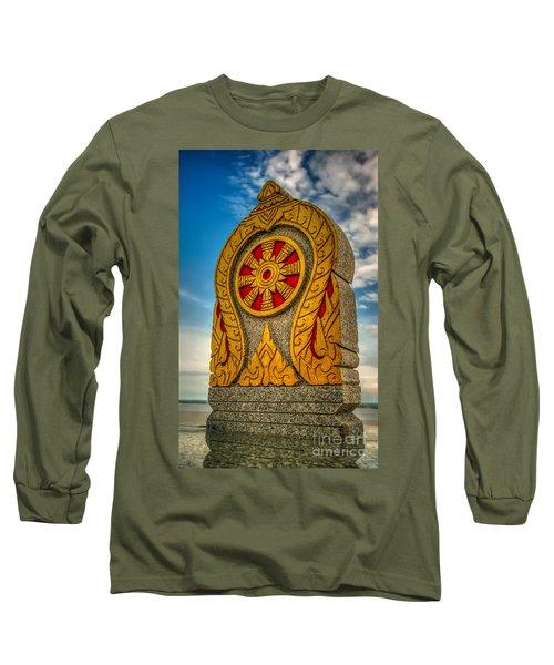 Buddhist Icon Long Sleeve T-Shirt