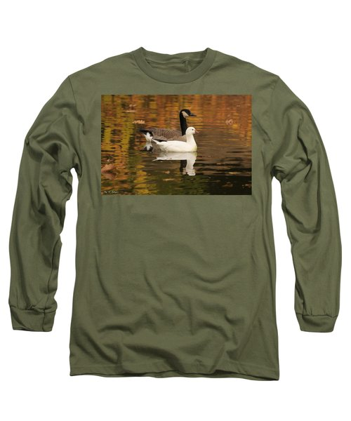 Long Sleeve T-Shirt featuring the photograph Buddies by Amy Gallagher