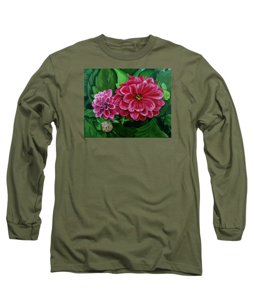 Buds And Blossoms Long Sleeve T-Shirt