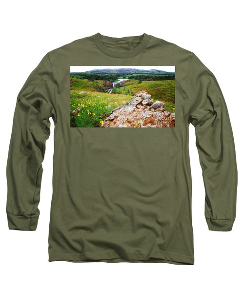 Buford Lake  Long Sleeve T-Shirt
