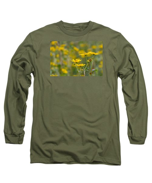 Long Sleeve T-Shirt featuring the photograph Burrmarigold by Paul Rebmann