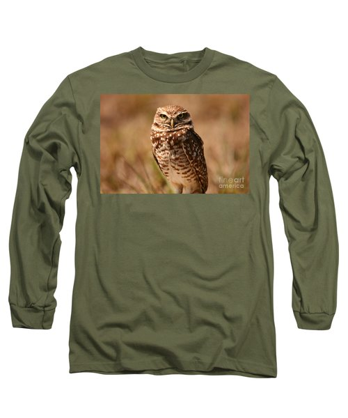 Burrowing Owl Impressions Long Sleeve T-Shirt