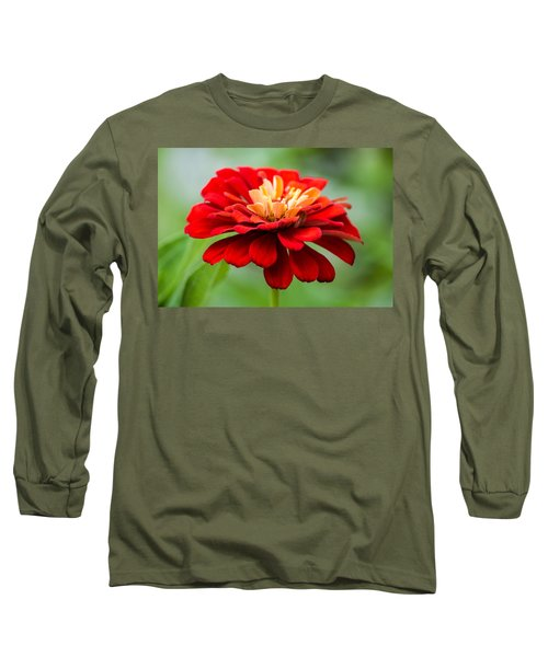Bursts Of Color Long Sleeve T-Shirt by Parker Cunningham