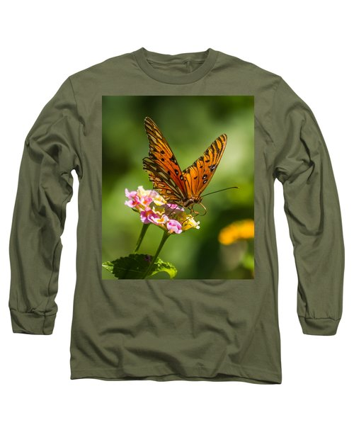 Busy Butterfly Long Sleeve T-Shirt