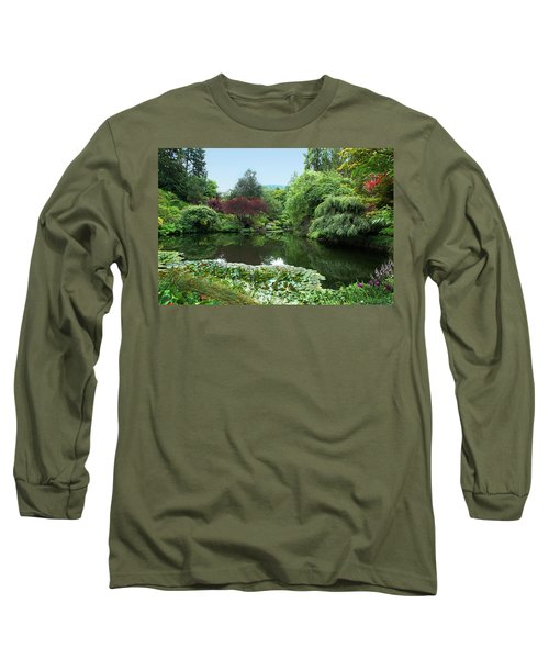 Butchart Gardens Long Sleeve T-Shirt