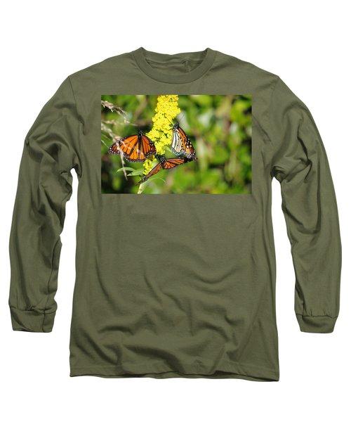 Butterflies Abound Long Sleeve T-Shirt