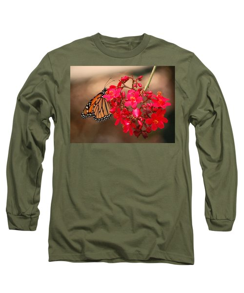 Long Sleeve T-Shirt featuring the photograph Butterfly 1 by Leticia Latocki