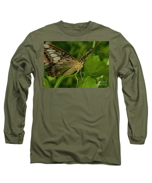 Long Sleeve T-Shirt featuring the photograph Butterfly 2 by Olga Hamilton