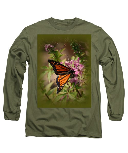 Long Sleeve T-Shirt featuring the photograph Butterfly 5 by Leticia Latocki