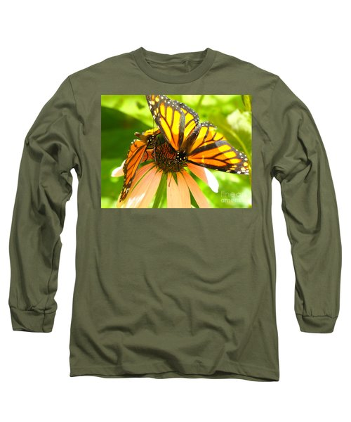Butterfly And Friend Long Sleeve T-Shirt