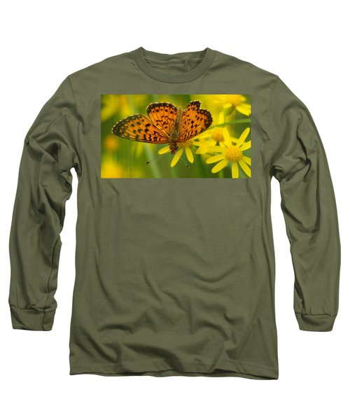 Long Sleeve T-Shirt featuring the photograph Butterfly by James Peterson